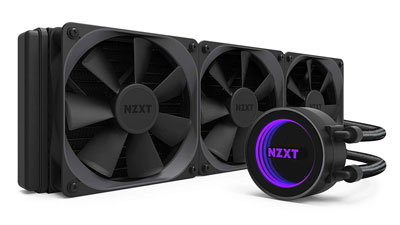 1. NZXT Kraken X72 360mm CPU Liquid Cooler