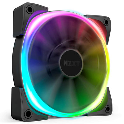 10. NZXT AER RGB 2 – 120mm – Fan for Hue 2