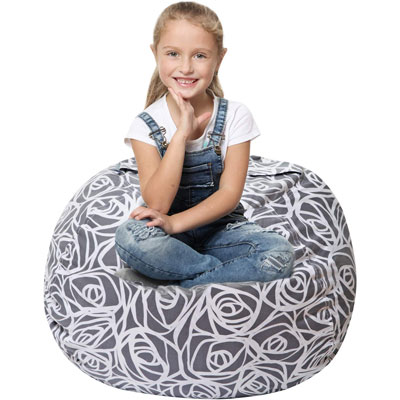 6. 5 STARS UNITED Stuffed Animal Storage Bean Bag