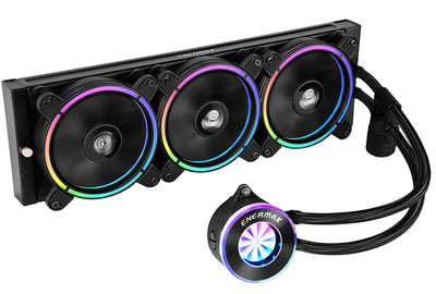 10. Enermax ELC-LF360-RGB RGB 360mm Liquid CPU Cooler