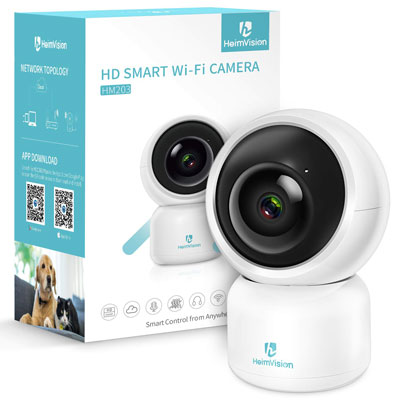 6. Heimvision HM203 1080P Security Camera with Smart Night Vision