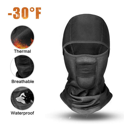 9. RIGWARL Balaclava Face Mask for Cold Weather