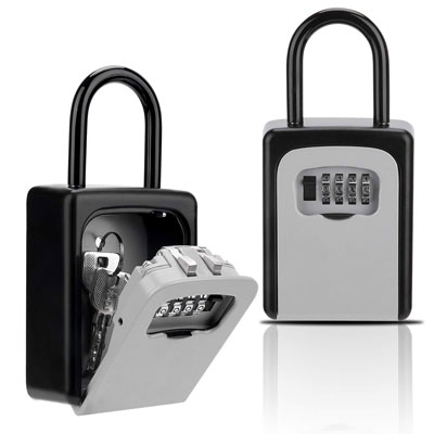 4. Buteny Key Lock Box for House Key Storage