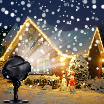8. CroLED Christmas Snowflake Projector LED Lights