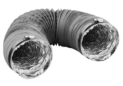 8. Hippohese Dryer Vent Hose Transition Duct