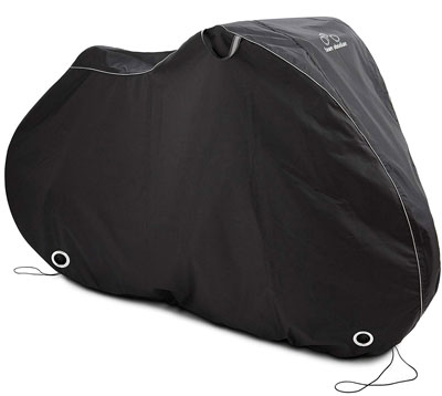 4. DAVANDI Waterproof Bike Cover for 1 or 2 Bikes