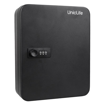 7. Uniclife 48 Key Cabinet Steel Security Lock Box