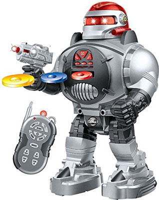 2. Think Gizmos RoboShooter Remote Control Robot For Kids
