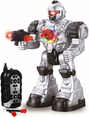 8. Play22 Remote Control Robot Toy