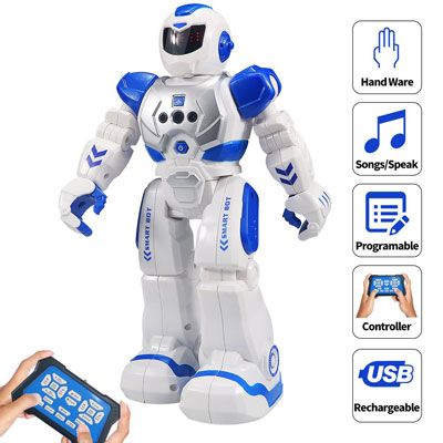 6. Sikaye RC Programmable Robot for Kids
