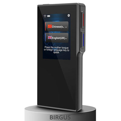 1. birgus Smart Voice Translator Device