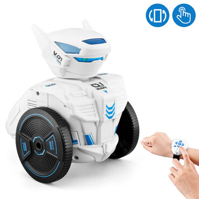 10. WomToy Remote Control Robot Toy for Kids