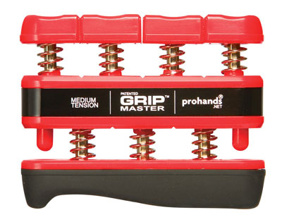 1. Prohands Gripmaster Hand Exerciser (Hand Grip Strengthener)