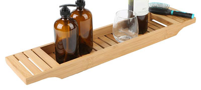 9. Mind Reader Bathroom Shower Organizer