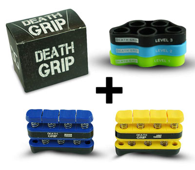 10. Death Grip Hand Grip Strengthener Kit