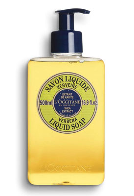 7. L'Occitane Shea Butter Liquid Hand Soap