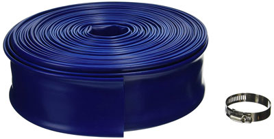 "6. Blue Devil 100-Foot Backwash Hose for Pool, 2"" W x 100'L"
