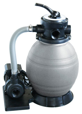 8. Blue Wave 12-Inch Sand Filter System for Above Ground Pools
