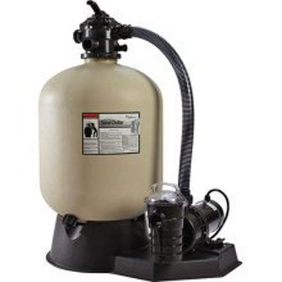 10. Pentair Sand Dollar Aboveground Filter System
