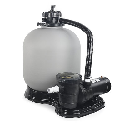 2. XtremepowerUS 4500GPH Sand Filter w/ 1HP Above Ground Pool Pump