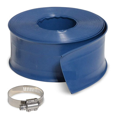 3. Milliard 50 ft Backwash Hose – 2 inch Diameter