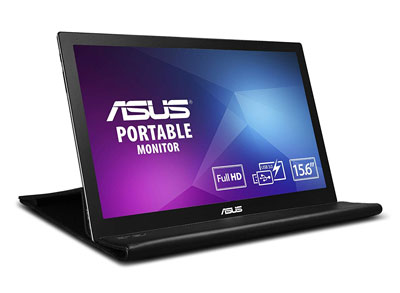 "2. ASUS MB169B+ 15.6"" Full Portable Monitor"