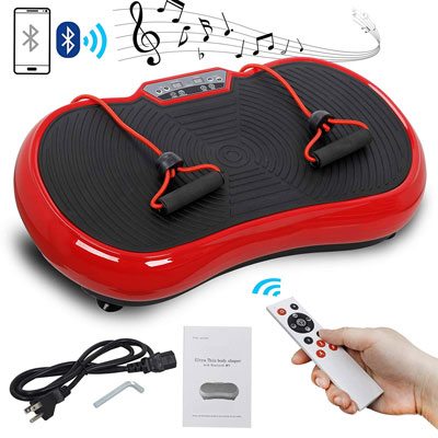 4. SUPER DEAL Pro Vibration Plate Exercise Machine