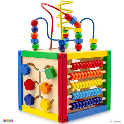 7. Play22 Activity Cube with Bead Maze