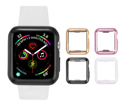 8. Tranesca Apple Watch case with Screen Protector