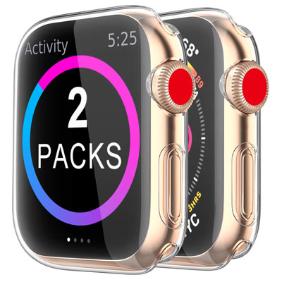 5. BRG Case for Apple Watch Screen Protector [2 Pack]