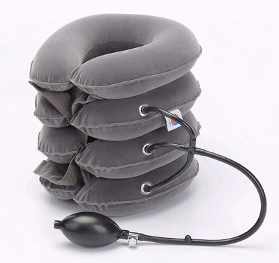 7. ChiFit Collar Massage Cervical Spine Alignment Neck Traction Device