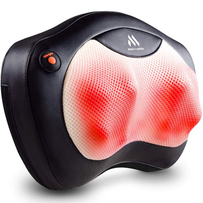 8. MagicMakers Back Massager Neck Massager with Heat