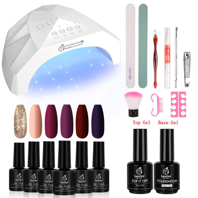 10. Beetles Gel Nail Polish Starter Kit
