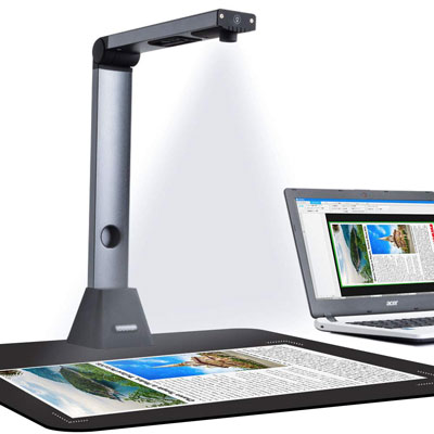 3. iCODIS Document Camera X3, Portable Scanner