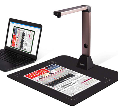 6. iOCHOW Document Camera S1, Portable Scanner