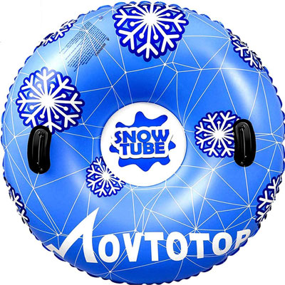 "9. MOVTOTOP 47"" Inflatable Snow Sleds"
