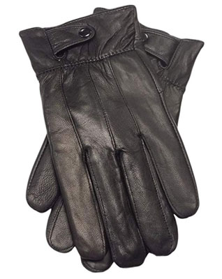 4. Reed Men's Genuine Leather Warm Lined Driving Gloves