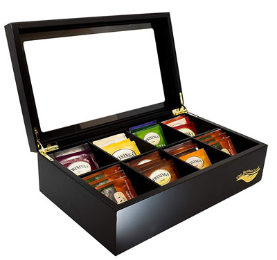5. The Bamboo Tea Box Storage