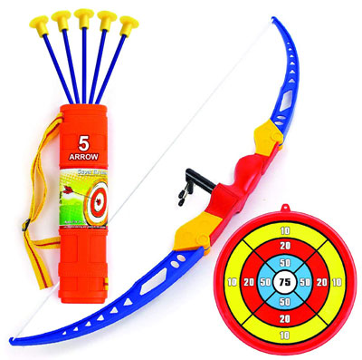 4.Toysery Bow and Arrow for Kids