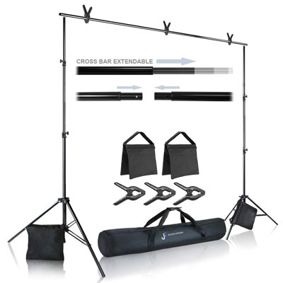 1. Julius Studio 7.3 ft. Tall Backdrop Stand