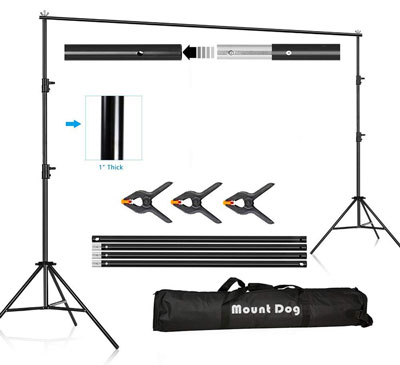 5. MOUNTDOG Backdrop Support Stand