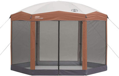 1. Coleman Screened Canopy Tent
