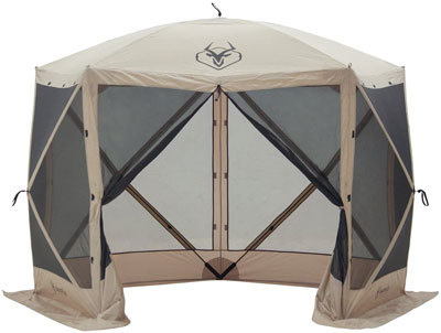3. Gazelle 4 Person 5 Sided Screened Tent