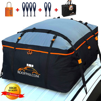 4. RoofPax Heavy-Duty Rooftop Cargo Carrier Bag