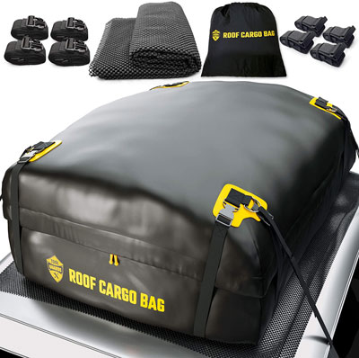 2. ToolGuards Waterproof & Coated Zippers Carrier Roof Bag