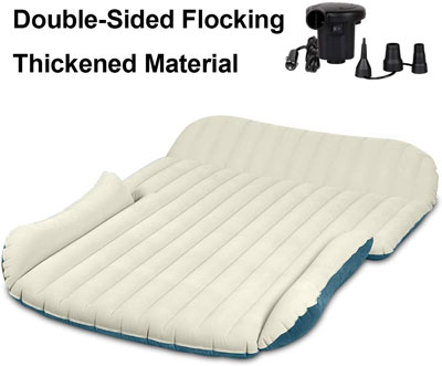 4. WEY&FLY Thickened and Double-Sided SUV Air Mattress