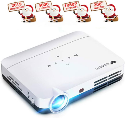 6. WOWOTO LED Wireless 3D Projector