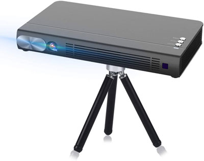 10. Cocar T6 3D Mini Projector