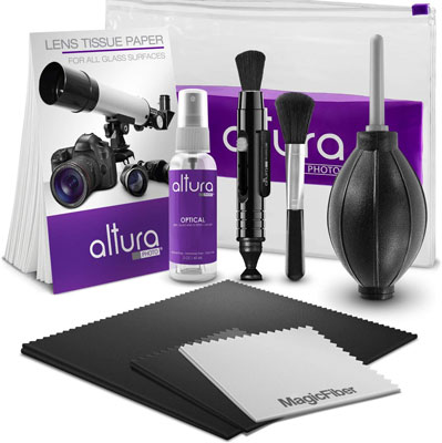 2. Altura Photo Cleaning Kit for DSLR Cameras and Sensitive Electronics