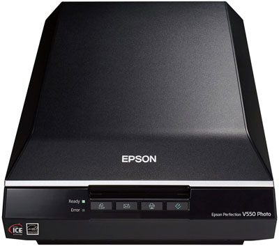2. Epson Perfection V550 Color scanner